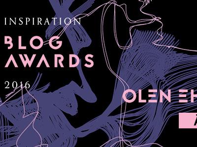 Inspiration Blog Awards -äänestys on käynnistynyt!