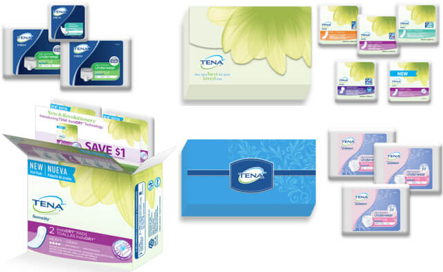 Free TENA Incontinence Products Samples