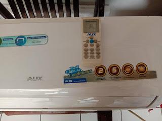 merubah setting suhu remote ac aux ke celcius