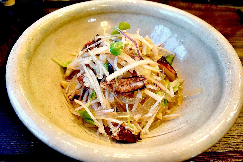 Recipes for Tom Kuzukiri to daikon kani no sarada