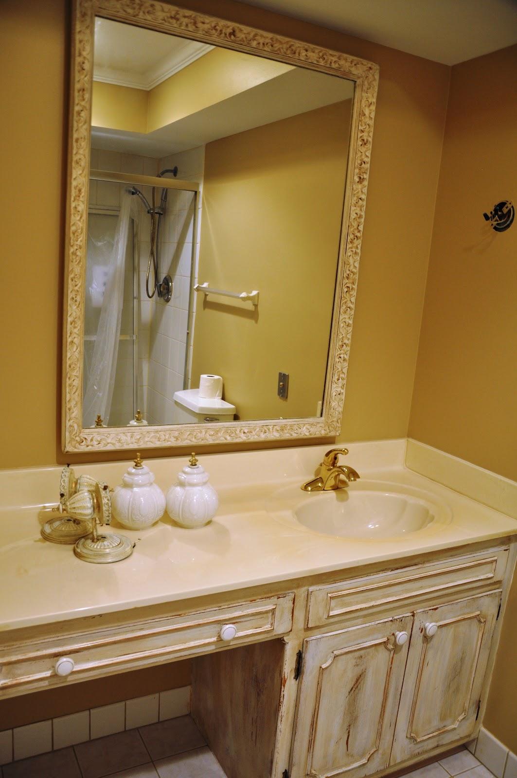 Serendipity Refined Blog Updating Bath Vanities Chalky Paint Recipe