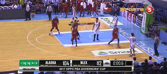 NLEX def. Alaska, 112-104 (REPLAY VIDEO) July 19