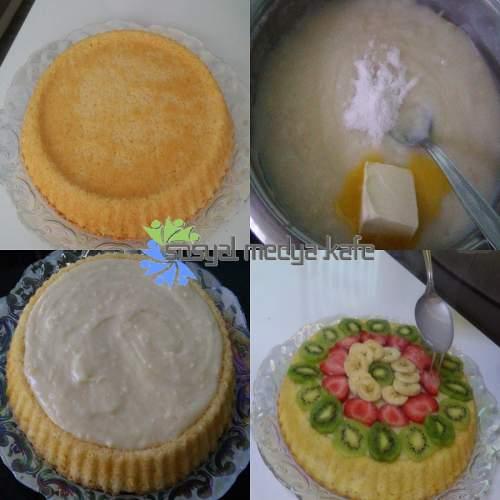 Meyveli Pasta Nasıl Yapılır