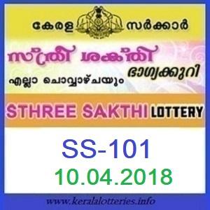 STHREE SAKTHI (SS-101)  LOTTERY RESULT