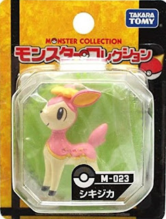 Deerling figure Tomy Monster Collection M series