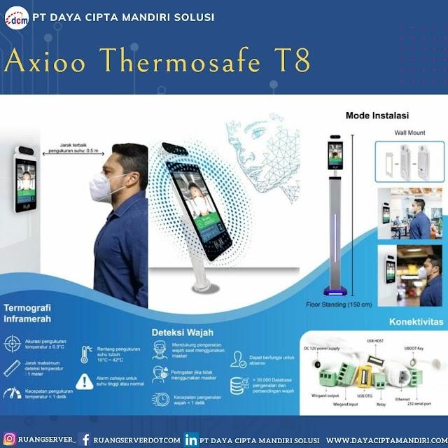 Axioo T8 Thermosafe, Tablet Pengukur Suhu dengan Akurasi Tinggi