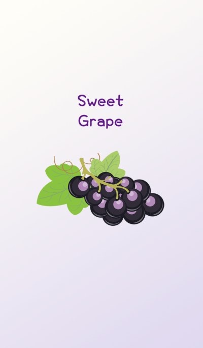 Delicious sweet grapes