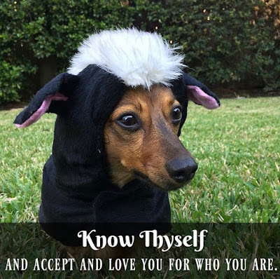 Know Yourself and Accept and Love you for who you are