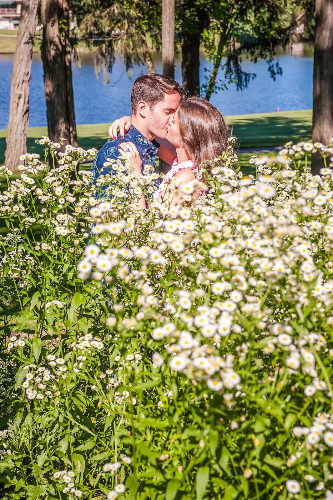 Our Engagement Story  featured by popular New York blogger, Covering the Bases