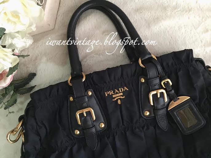 7badd691808c ... bag bn1336 1df46 f9dee; new style prada bn1336 gauffre nylon tote dark  blue 1381b cad15