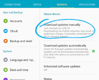 update OS mengatasai masalah wifi