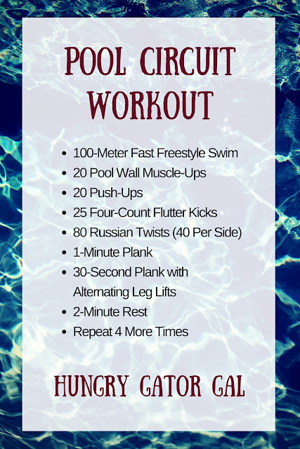 Pool Circuit Workout from Hungry Gator Gal