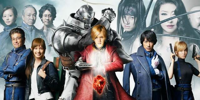 live action anime terbaik