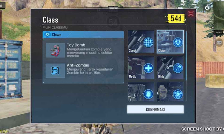 Kenali 6 Class Di Game COD Mobile Dalam Mode Battle Royale