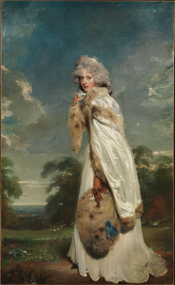 Elizabeth Farren, later Countess of Derby  by Sir Thomas Lawrence (1790)  from Metropolitan Museum of Art