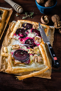 vegetarian easter dinner beets tart
