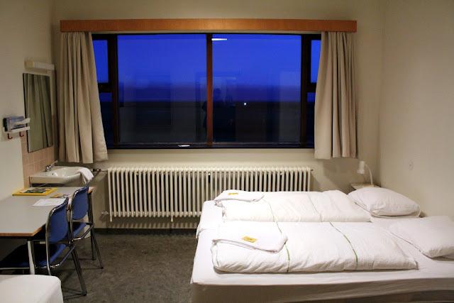 Habitación doble del Hotel Edda Skogar