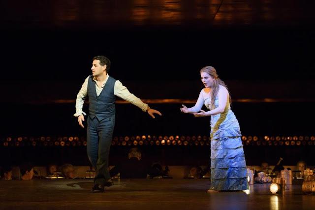 Gluck Orphée et Eurydice: - Juan Diego Florez, Lucy Crowe - Royal Opera House (©2015 ROH. Photograph by Bill Cooper)