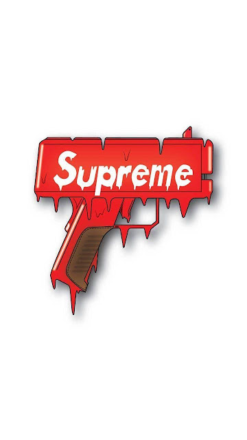 drip wallpaper supreme