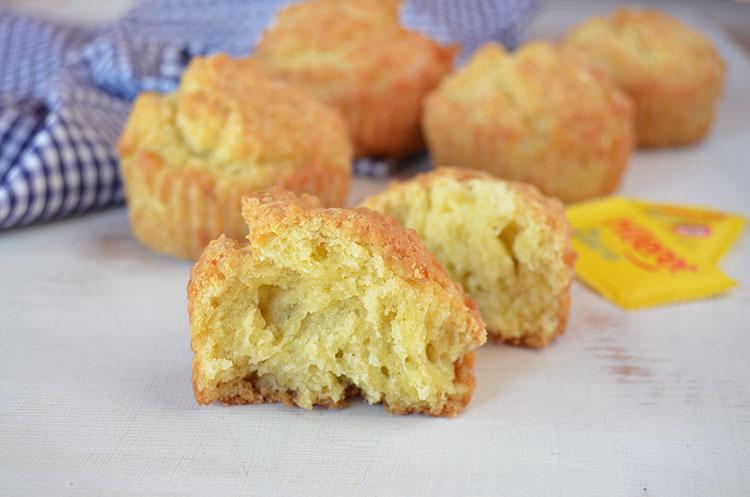 Muffins de vainilla sin azúcar