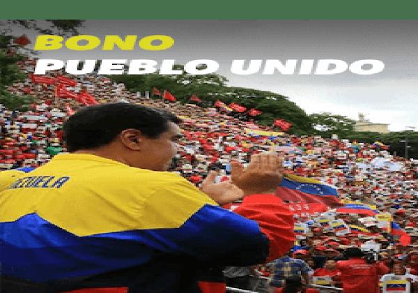 """Inicio asignación del nuevo bono """" PUEBLO UNIDO"""" a través del carnet de la patria"""