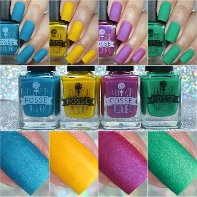 Lollipop Posse Lacquer - Kiki Vol 2. Collection