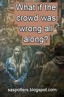 What if the crowd was wrong all along?