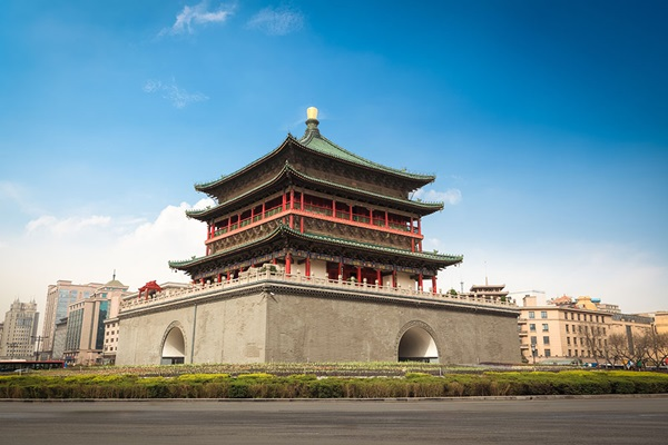 หอระฆังซีอาน (Bell Tower of Xi'an) @ www.creativetravelguide.com