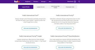 FedEx Express ini memiliki beberapa layanan pengiriman yang bisa kamu pilih