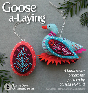 Goose a laying pattern
