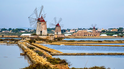 What to do in Marsala guided bike tours on salt flats