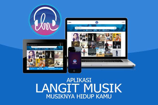 aplikasi download lagu langit musik
