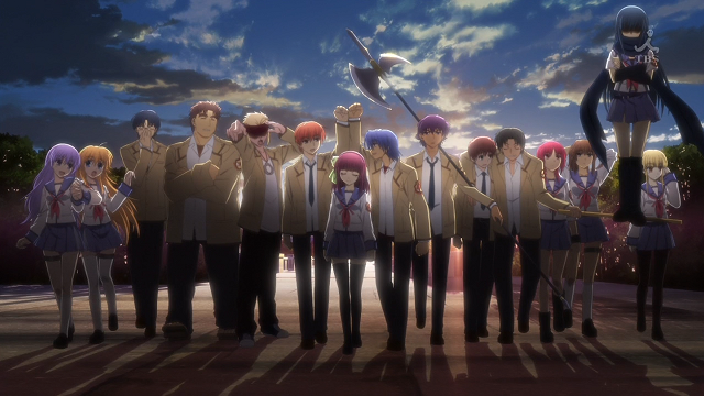 brave song by aoi tada - ending angel beats