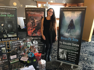 E.J. Stevens fantasy author book signings