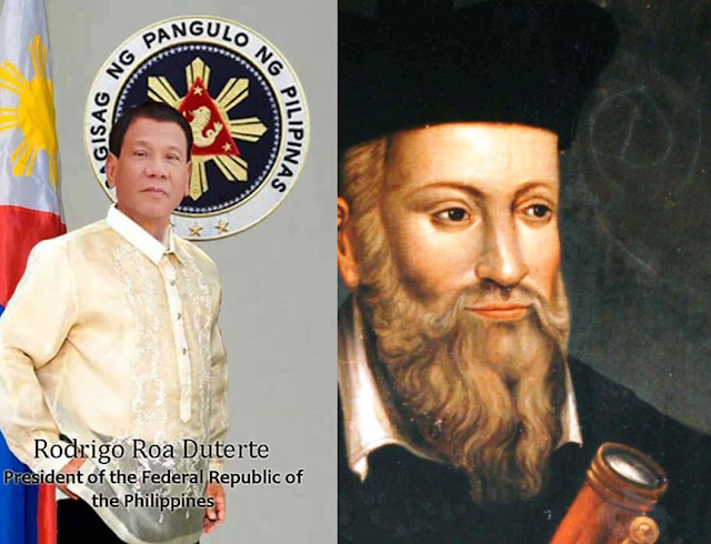 Predictions of Nostradamus About The Philippines  And Duterte