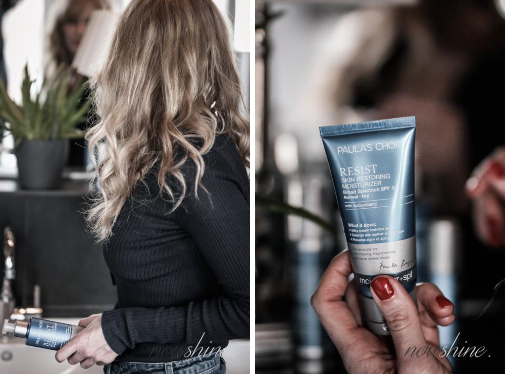 Resist Anti-Aging Skin Restoring Creme mit LSF 50/ Nowshine Beauty Blog über 40