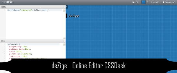 Online Editor CSS HTML Javascript 2