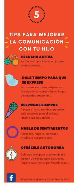 Tips para mejorar la comunicación con tu hijo