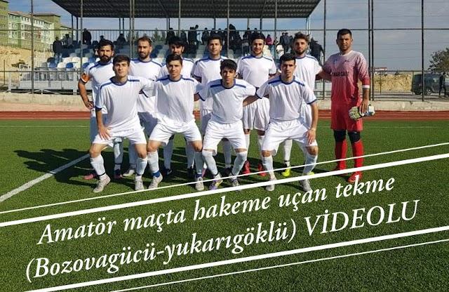 Olaylı maçta Bozovagücü hükmen galip