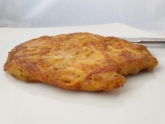 Tortita de patata y boniato