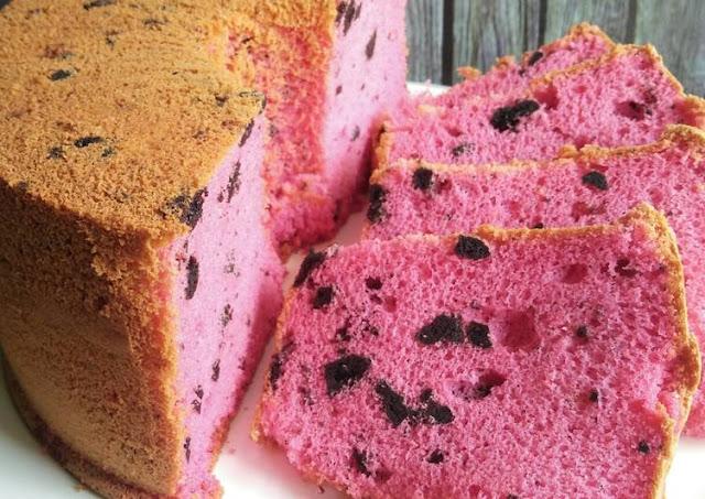 Resep Cara Membuat Oreo Strawberry Chiffon Cake Yang Lezat