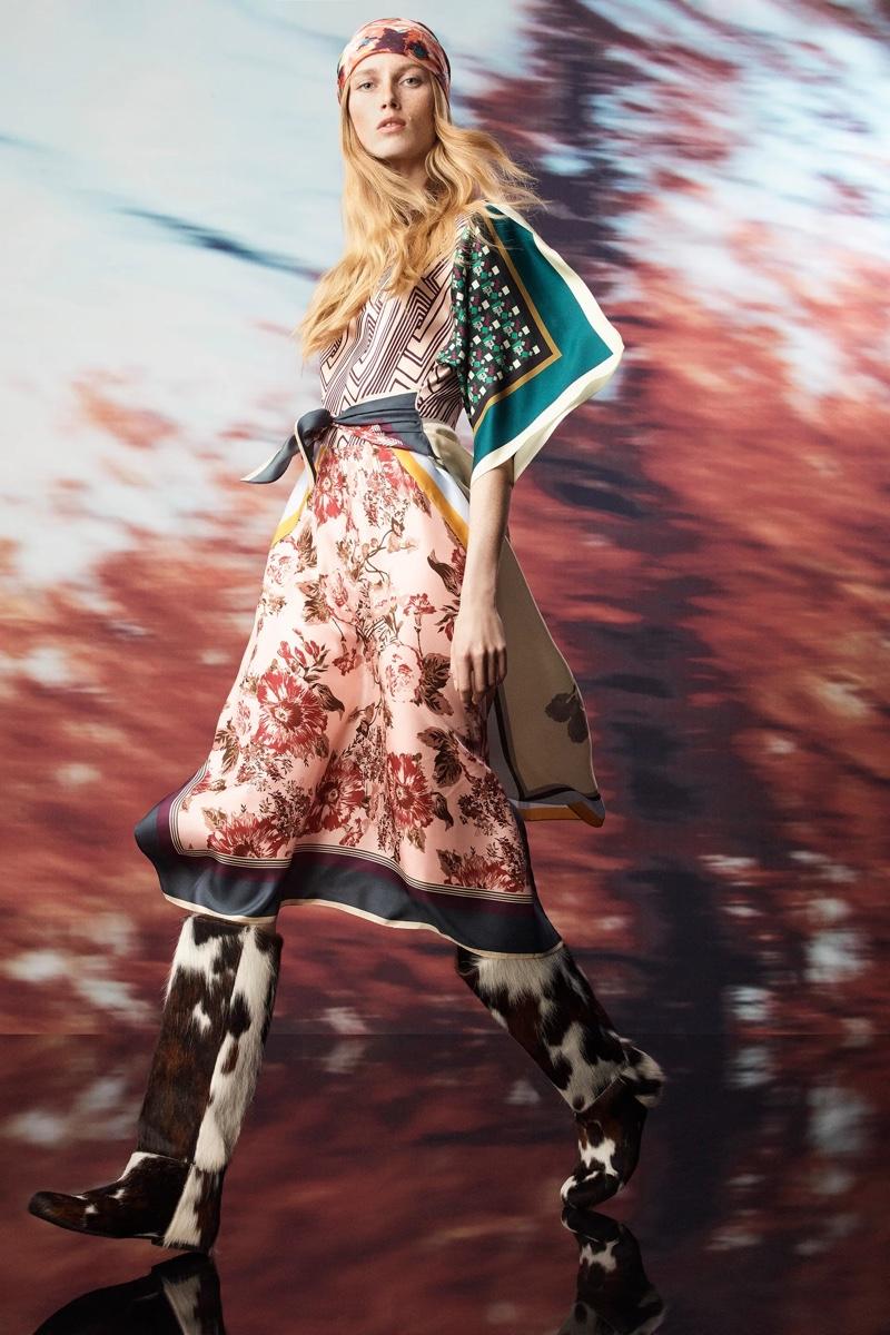 Zara Scarf Collection fall-winter 2021.