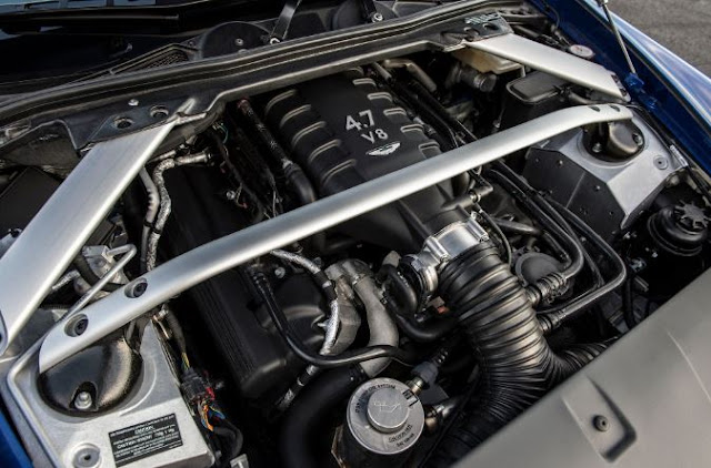 2017 Aston Martin Vantage GTS Engine