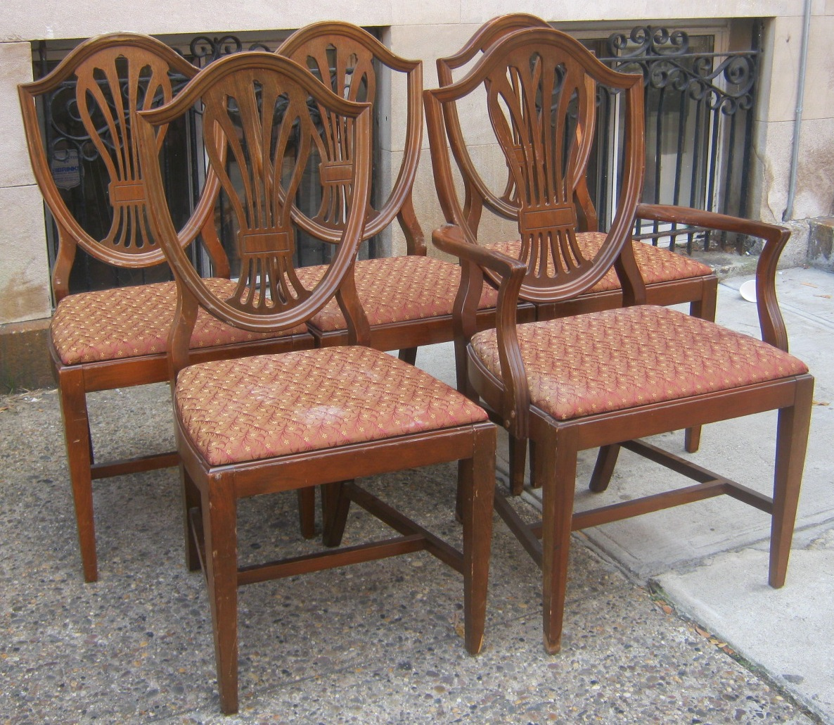 duncan phyfe chairs dining room sets 6 uhuru furniture and collectibles style sold