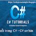 Chuỗi trong C# - C# cơ bản