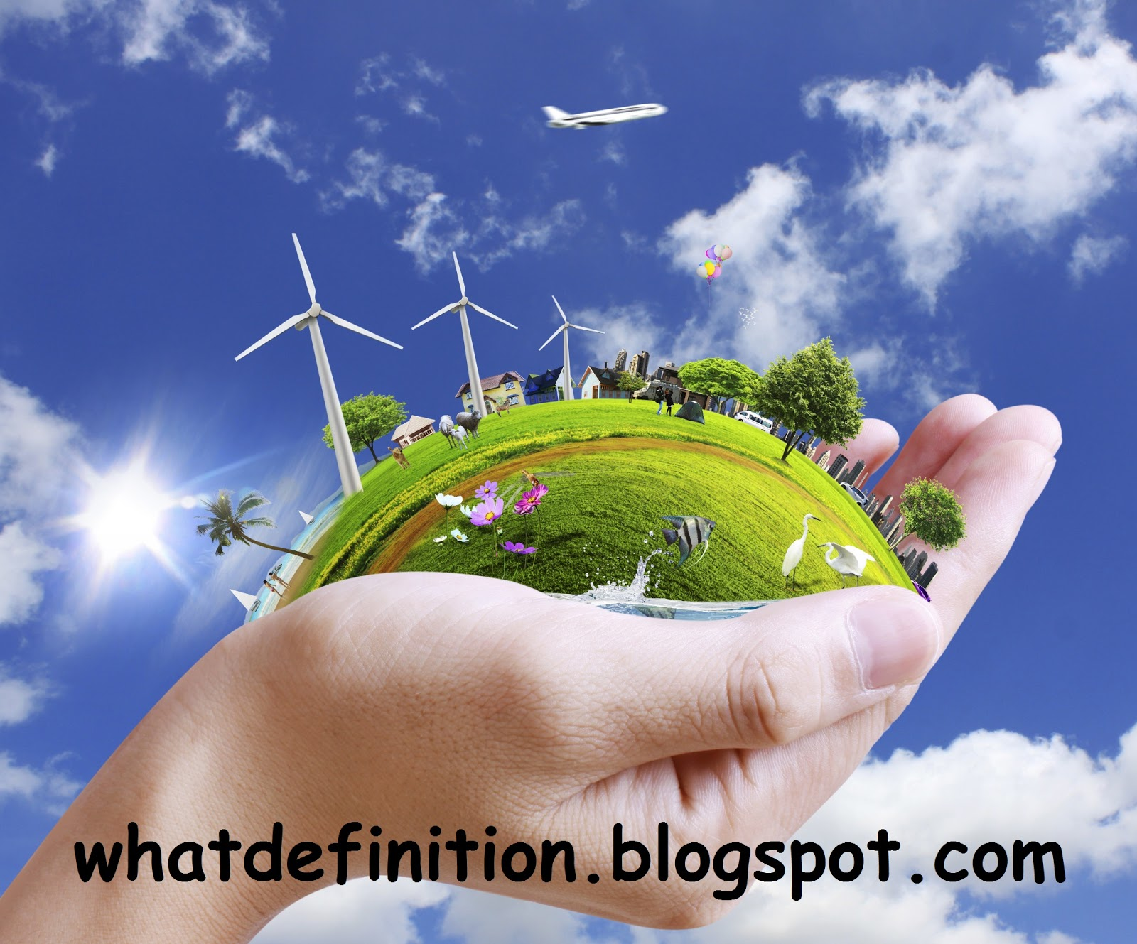 definitions defining: what is the best definition of environment for