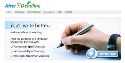After The Deadline - Grammar checker tool