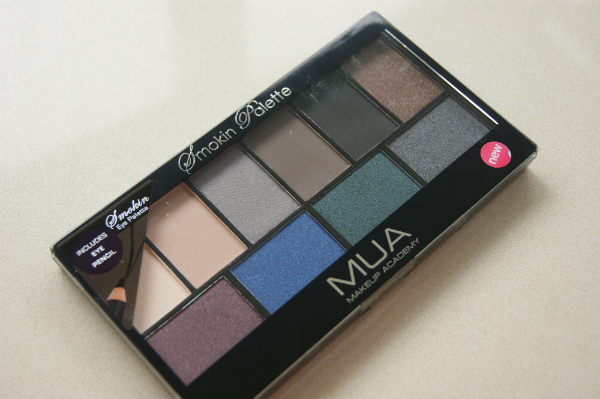MUA Smokin Palette Review and Swatches