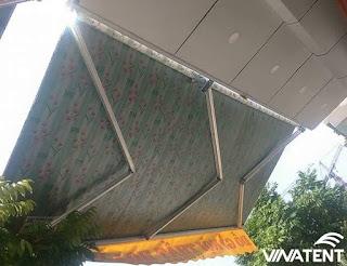 mái hiên di động giá rẻ tại Hà Nội