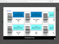 Barcode sisi Kanan dan Barcode sisi Kiri
